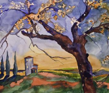 tuscan spring print