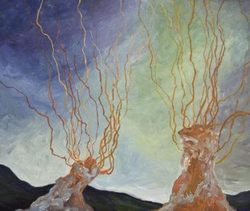 tree abstract 4 print